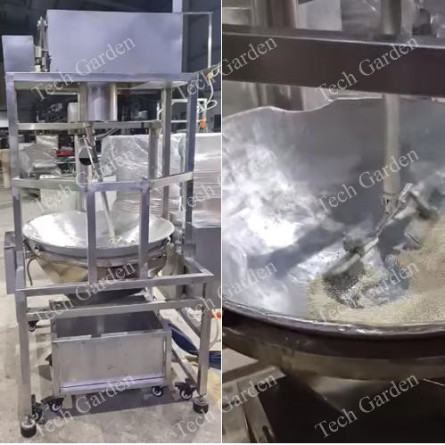 Automatic roasting machine