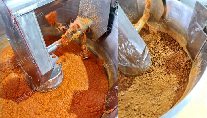 Hình ảnh: Máy rang muối ớt
