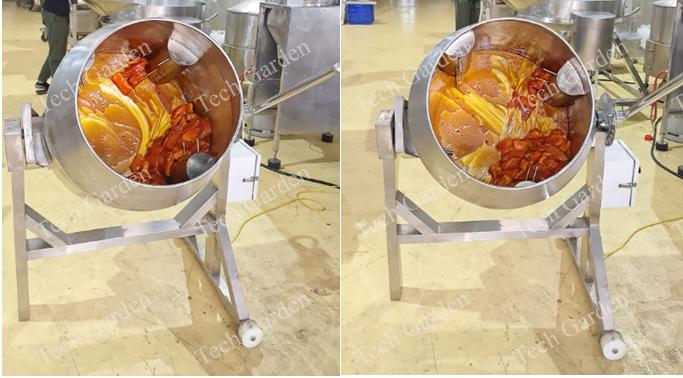 Hình ảnh: Máy trộn thịt ướp gia vị